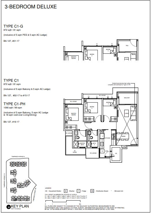 Parc Central Residences Floor Plan